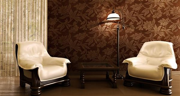 3-Living-Room-Wallpaper-Design-Ideas-awesome-creative-wall-decor-ideas-for-living-room-with-brown-texture-wallpaper