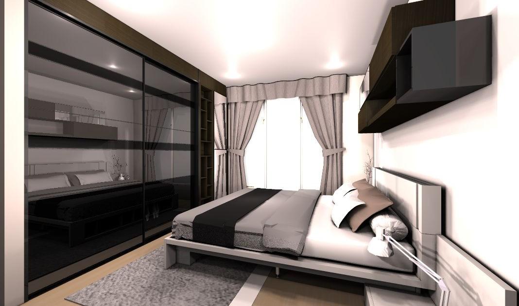 แบบเตียง SPAZIO 6 ฟุต 2