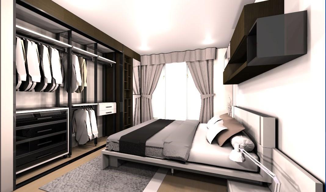 แบบเตียง SPAZIO 6 ฟุต 3