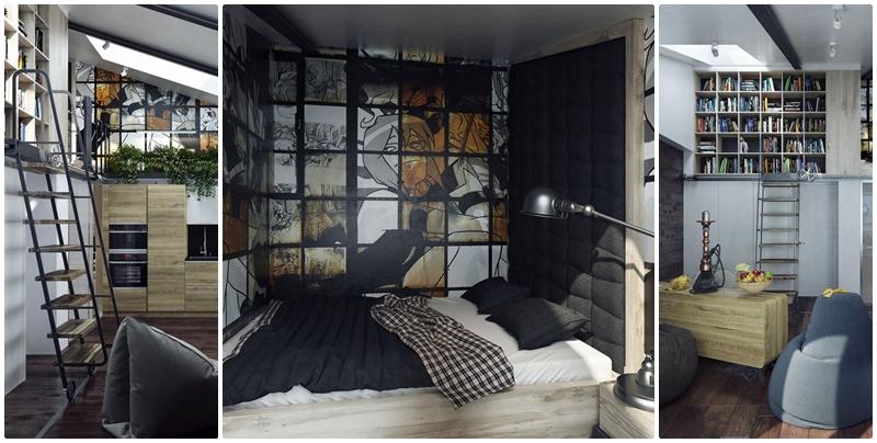 ห้องนอนวัยรุ่น