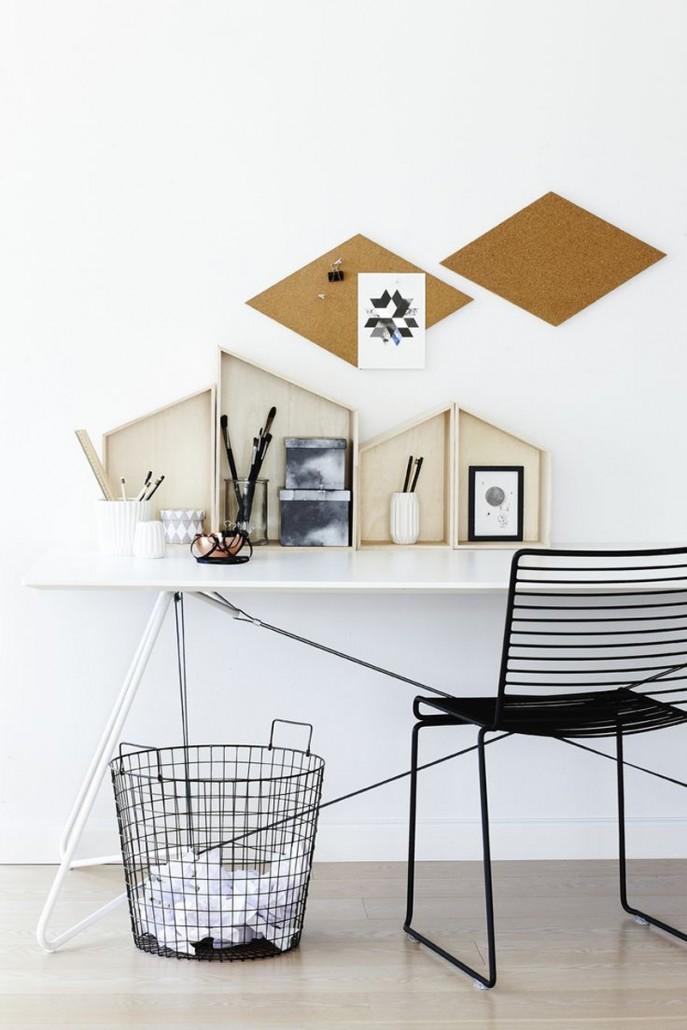 Geometric-cork-walls
