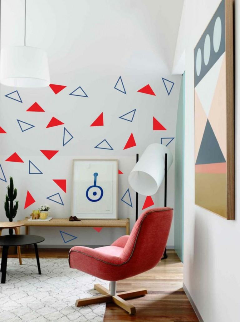 Geometric-wallpaper-design
