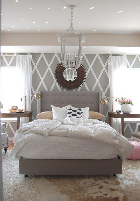 grey-headboard-design-idea