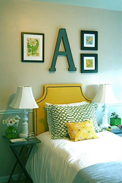 vintage-yellow-headboard-design