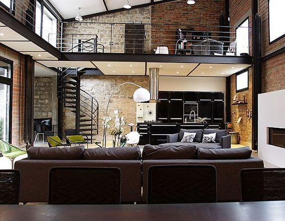 living room industrial style23