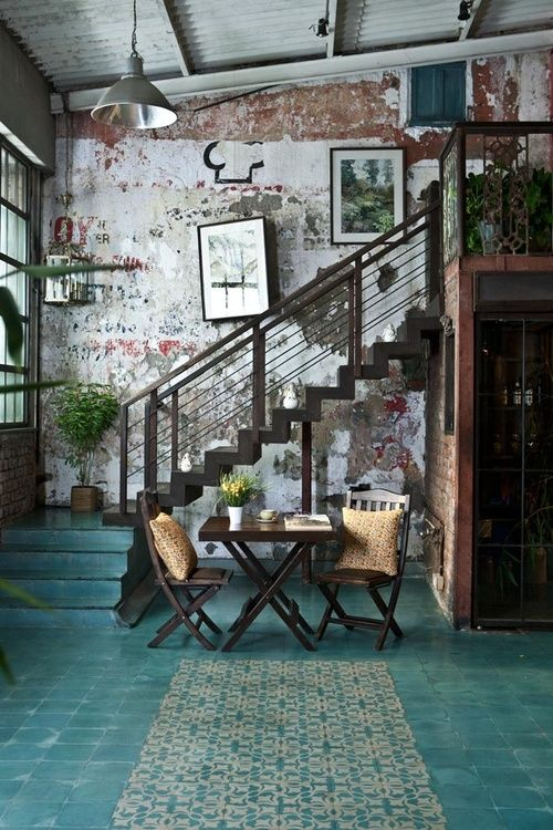 living room industrial style4