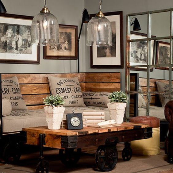 living room industrial style6