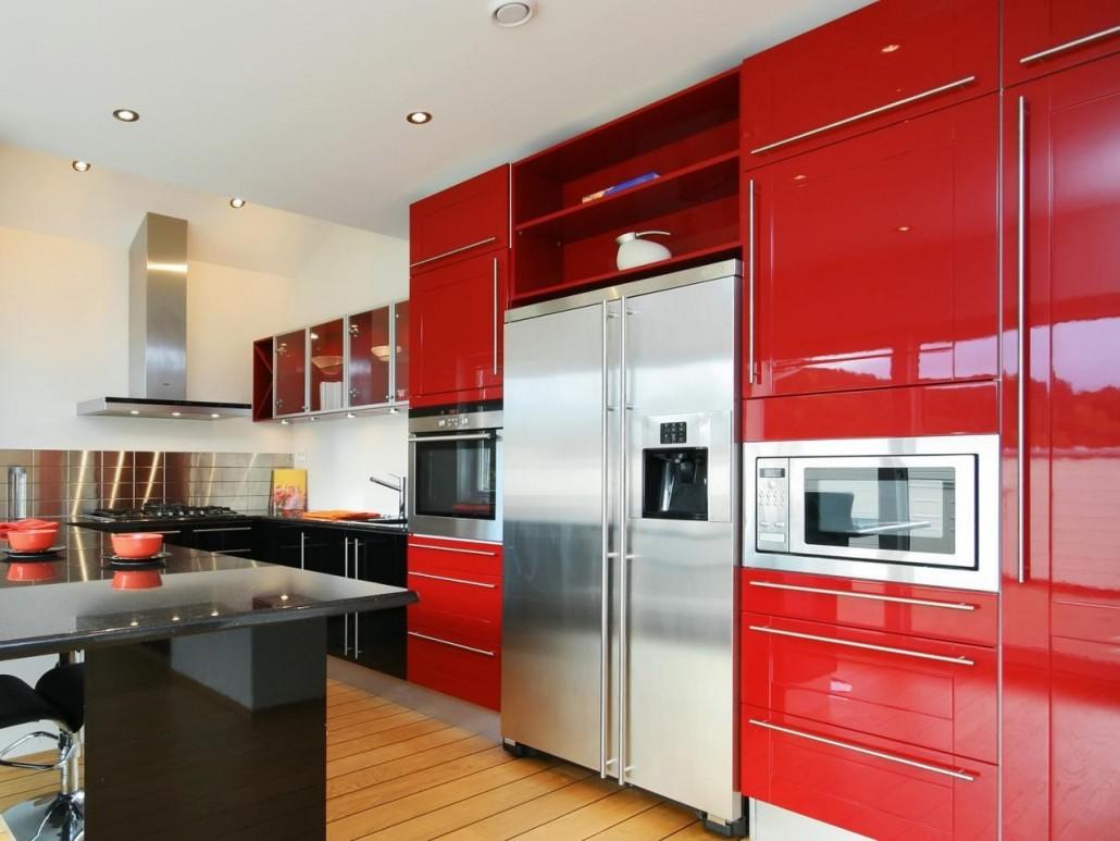 Kitchen 20 Modern Kitchen Cabinet Idea Kitchen Red Kitchen Cabinet With Stainless Steel Wall Red Kitchen Cabinet With Stainless Steel Wall